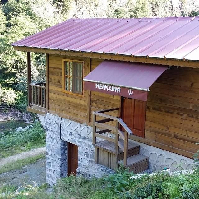 Artvin borçka bungalov evleri