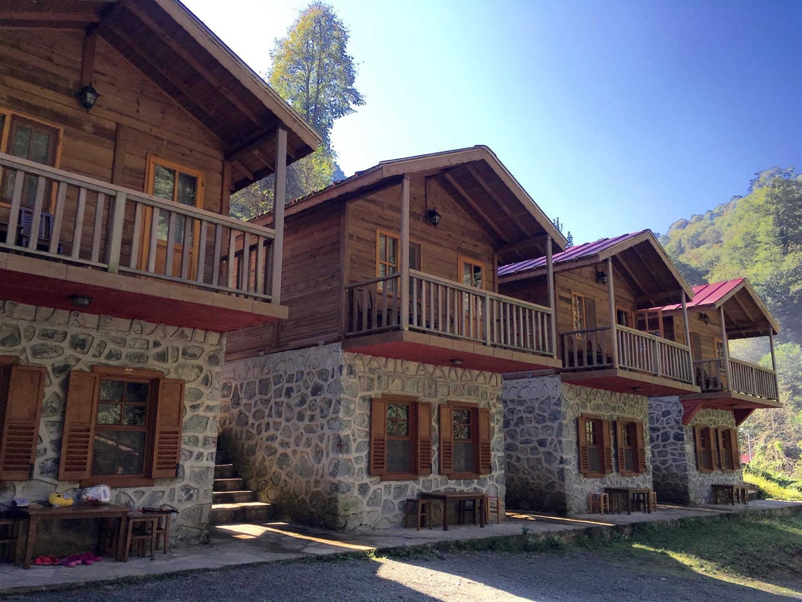 Artvin karagöl bungalov evleri